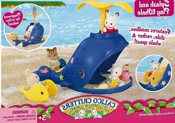 Calico Critters ~ SPLASH AND PLAY WHALE ~  Play Set ~ NIB