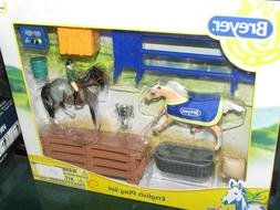 Breyer Stablemates English Horse Play Set 10 Piece Play Set
