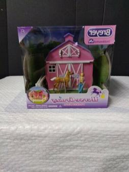 Breyer Stablemates Horse Crazy Pocket Barn and Horse Play Se