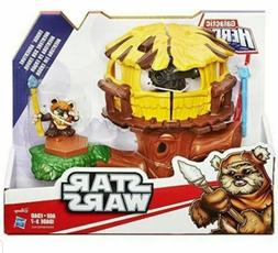 Star Wars Galactic Heroes Endor Adventure with Wicket Action