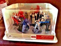 Disney Star Wars Last Jedi Deluxe Figure Playset set of 10 P