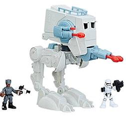 Galactic Heroes Star Wars First Order at-ST with Action Figu