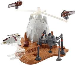 Hot Wheels Star Wars Starship Battle of Geonosis Play Set