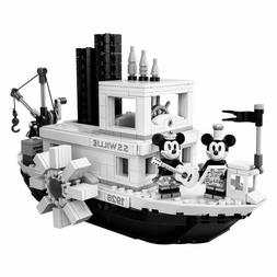 STEAMBOAT WILLIE set Mickey Mouse figures vehicle playset br