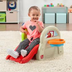 Step 2 Sports Activity Center Play Set Toddler Tethered Bask