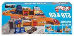 Sto and Go Playset, Toy Vehicle Hot Wheels Railway Retro Fol