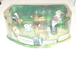 Disney Store Bambi Exclusive 6 Piece Figurine Playset Cake T