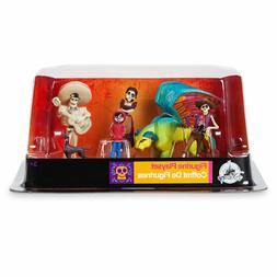 DISNEY Store FIGURE Playset COCO Figurine 6 Piece PLAY SET N