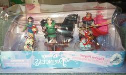 Disney Store MULAN Figure Play Set 6pc Brand New