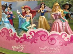 Disney Store Playset Princess Figurine 7pc cake topper toy s