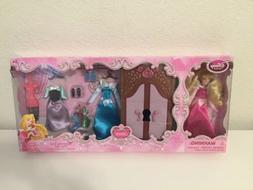 Disney Store Sleeping Beauty Aurora Wardrobe Mini Doll Figur