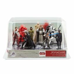 Disney Store Star Wars The Last Jedi Deluxe Figure Playset o