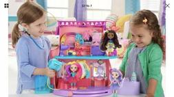 Nickelodeon Sunny Day Doll Toys Hair Salon Playset Styling K