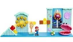 Nintendo Super Mario Deluxe Underwater Playset New Sealed Su