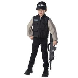 Dress Up America SWAT Team Role Play Set - Ages 3-6