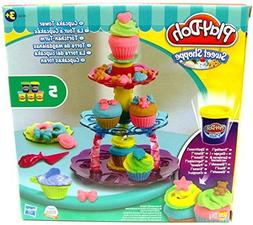 Play-Doh Sweet Shop Creations Cupcake Tower With Frosting Ki