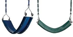 Swing-N-Slide Belted Swing Seat in CHAIN Strap Playset Swing