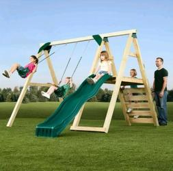 Swing-N-Slide Playsets Pine Bluff Play Set Kit - Just Add Wo