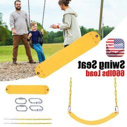 Swing Seat Slide Kids Playset Rope Chain Playground Equipmen