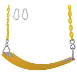 SWING SET STUFF INC COMMERCIAL POLYMER SEAT 5.5 FT COATED CH