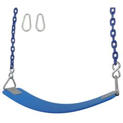 SWING SET STUFF INC COMMERCIAL POLYMER SEAT WITH 5.5 FT COAT