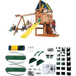 Swing Sets For Backyard Hardware Kit Children Kids Outdoor P