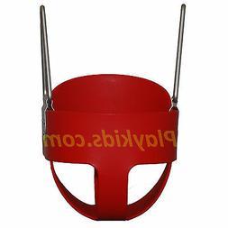Swing Baby Toddler S-26R Full Bucket Seat Swing , RED