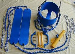 Swingset Swing Kit,infant swing,play set, playground,belt sw