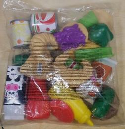 KidKraft Tasty Treats Food Set Play Kitchen / Pantry Plastic