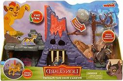 the lion guard hyena s hideout playset