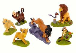 Disney THE LION KING Set of 6 Figurines / Cake Topper Play S