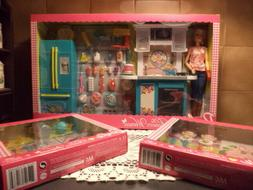 The Pioneer Woman Barbie Doll Kitchen Play Set & Pasta & Bar