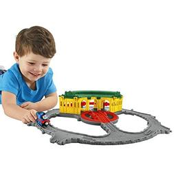 Fisher-Price Thomas & Friends Take-n-Play Tidmouth Sheds Adv