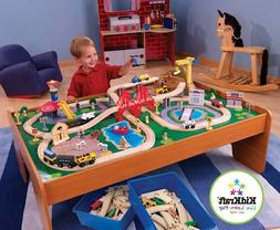 Wooden Table Toy Set Thomas The Train Brio Compatible Kids S