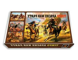 Timpo Apache War Party Play Set Box