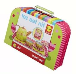NEW ALEX Toys Tin Tea Set Recommended For Children 3 Years O