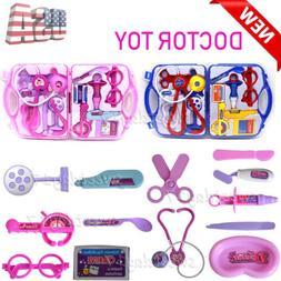 Toddler Boys Toy Medical Kit Doctor Pretend Play Set Girls D