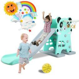 toddler climber play slide set kid indoor