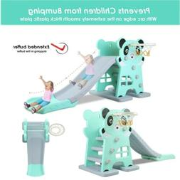 Toddler Climber Play Slide Set Kids Daycare Outdoor Playgrou