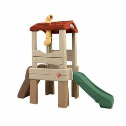 Toddler Playset Kids Treehouse Outdoor Playground Climber wi