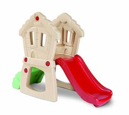 Toddler Slide Climber Playset Crawl Tunnel Window Wall Outdo