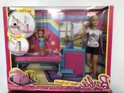 Barbie and Toddler Student Flippin Fun Gymnastics Dolls Play