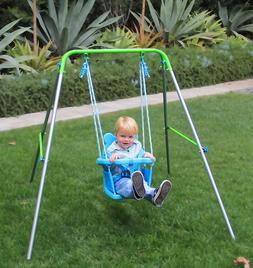 Toddler Swing Set Indoor Outdoor Backyard Infant Baby Swings