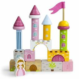 Toddler Toys For Girls, Wooden Wonders Princess Pine Castle