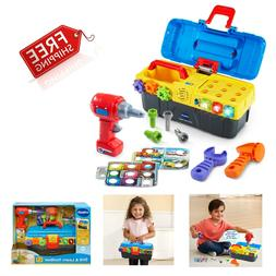Toolbox Playset Educational Toys For Boys for ages 2 to 5 To