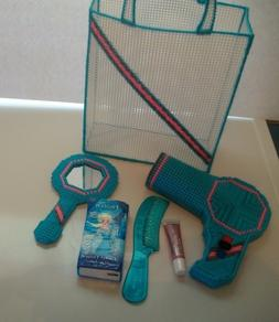 """Tote with Hair Styling Set """"Handmade"""" Play Set for Girls, Pl"""