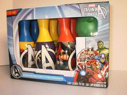 Toy bowling Set Marvel Avengers Assemble 7 Piece For 3+ New
