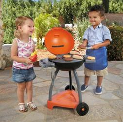 Toy Grill Set For Boys Outdoor BBQ Kids Girls Toddlers Plays