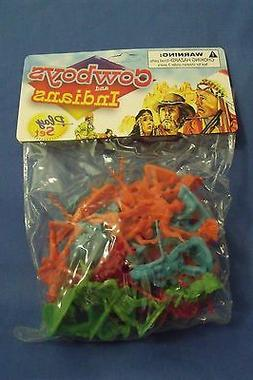 Toys New Kole Imports Cowboys and Indians Play Set 25 pieces