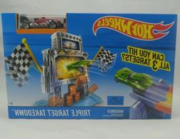 Toys New Hot Wheels Triple Target Takedown Track Play Set